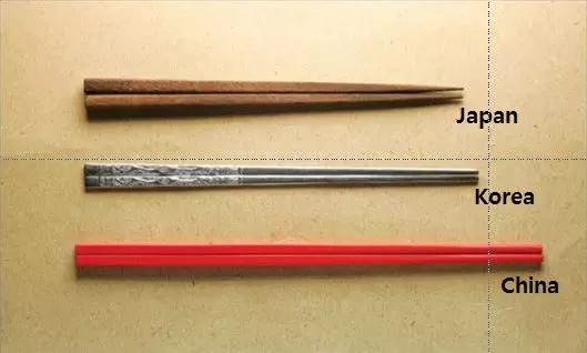 中日韓の箸とその文化