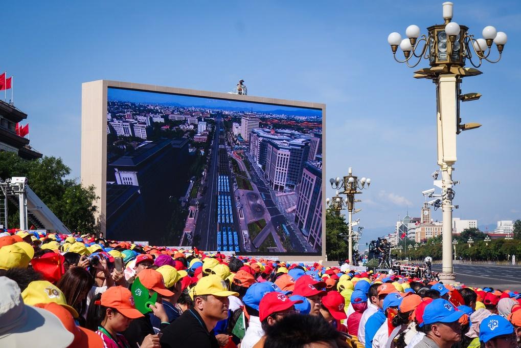 9月3日、北京で抗日戦勝記念70周年に軍事パレードが行われた(Eugene Kaspersky/Flickr)