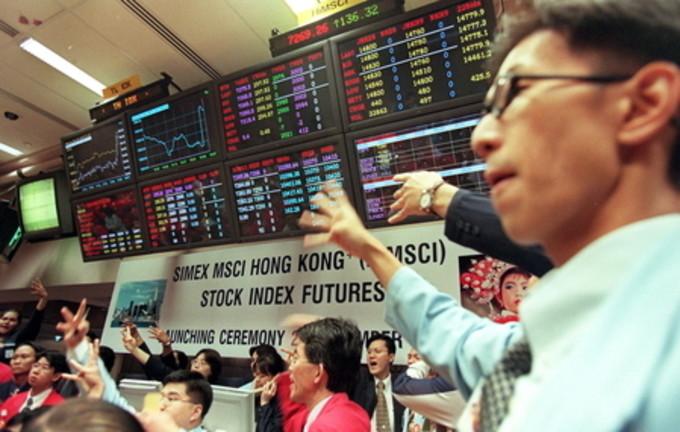 米MSCIが11月12日中国企業14社の銘柄を同社の主要指数に追加したが、中国本土A株について「当局の金融システム構造の課題が解決されなければ追加しない」方針を示した(ROSLAN RAHMAN/AFP/Getty Images)