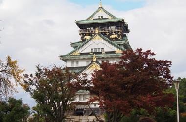大阪城(まさ恵撮影)