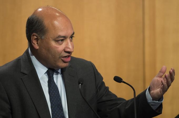 欧州復興開発銀行のスマ・チャクラバルティ総裁 (JIM WATSON/AFP/Getty Images)