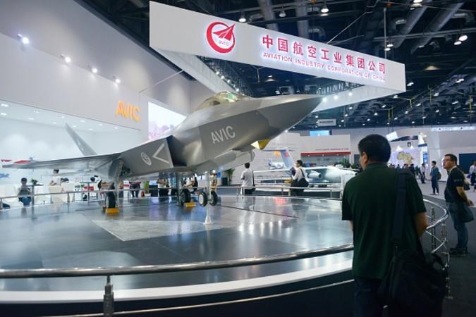 7千万ドルの賠償金を支払うよう命じられた中国航空工業集団(WANG ZHAO/AFP/Getty Images)