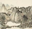 〈重巒古寺〉 (國立故宮博物院)