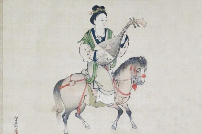 久隅守景によって描かれた王昭君(江戸時代/Wikipedia)