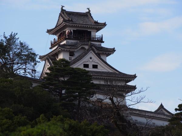 高知城(まさ恵撮影)