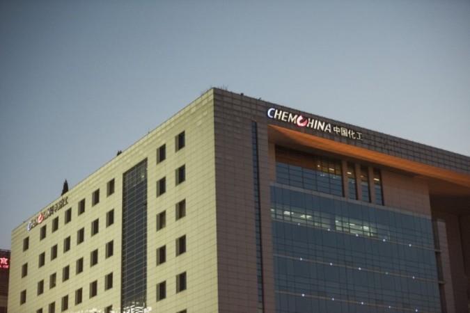 大型M&Aを進めている中国国有化工大手の中国化工集団 (FRED DUFOUR /AFP)