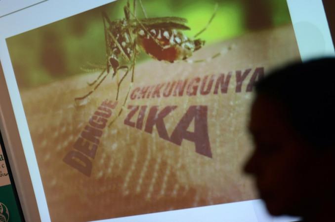 英総合医学雑誌、ランセットに掲載された報告書には、ジカウイルスがギランバレー症候群発症の原因の一つであると記されている (Guillain-Barre syndrome)。 ( NOAH SEELAM/AFP/Getty Images)