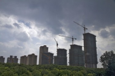 中国国家統計局によると、2月の中国70大中都市の新築住宅価格は前年同月比3.6%上昇した(大紀元資料)