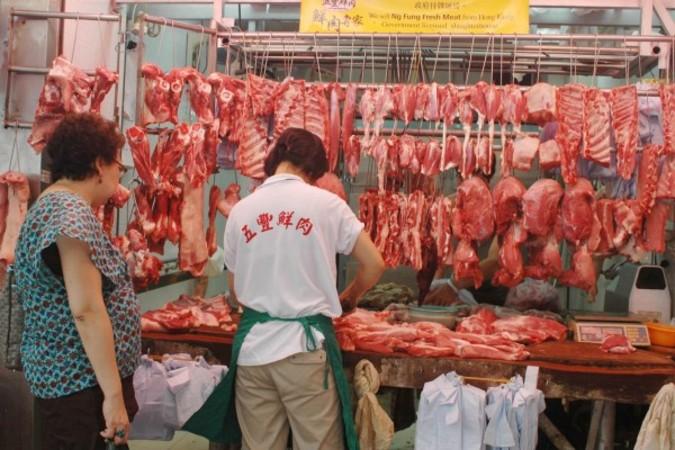 米ナショナル・フットボール・リーグは各選手に対して、中国産・メキシコ産の肉摂取に注意を呼びかけた(中央社)