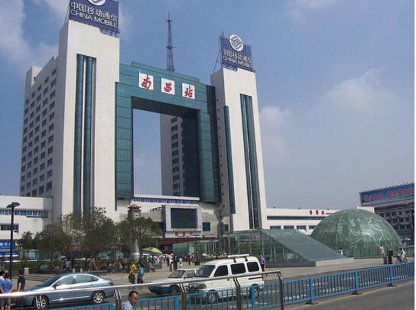 江西省の南昌駅。南昌鉄道局が管轄する。(参考写真)