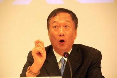 台湾鴻海精密工業の郭台銘会長(中央社)