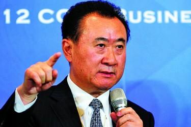 中国国内で15~20のテーマパークを運営する不動産大手万達集団の王健林会長は「上海ディズニーランドは、今後20年間は赤字が続くだろう」と発言した (Getty Images)
