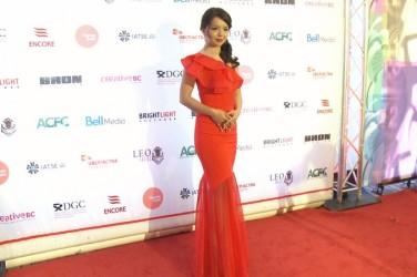 レオ賞で主演女優賞を受賞した、ミス・ワールド2015カナダ代表の女優アナスタシア・リンさん (Courtesy Flying Cloud Productions)