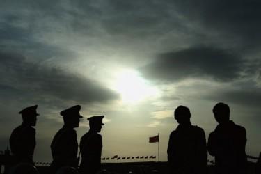 中国人民解放軍の30万人兵力削減でこのほど2.5万人以上の士官が退役した(Getty Images)