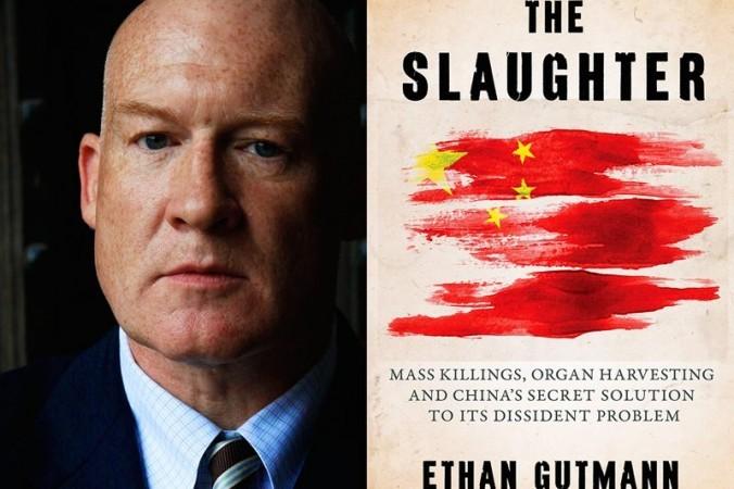 イーサン・ガットマン氏と著書『殺処分』表紙(EndOrganPillaging.org)