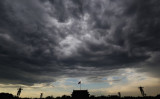 夕暮れ時の北京天安門広場(Getty Images)