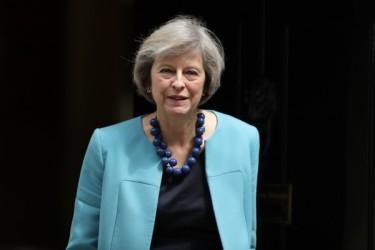 英国のテリーザ・メイ新首相(Dan Kitwood/Getty Images)