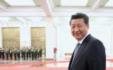 アルメニアの大統領を北京で迎える習近平・中国国家主席(Feng Li/Getty Images)