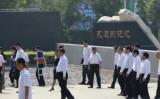 唐山大地震40年の追悼行事に出席した習近平主席(ネット写真)
