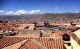 マチュピチュ旅行の起点となるクスコの街並み。クスコの標高は約3400m(田中美久 撮影)