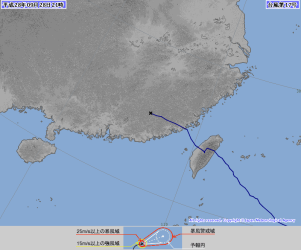 出典:気象庁ホームページ(http://www.jma.go.jp/jp/typh/1617.html)