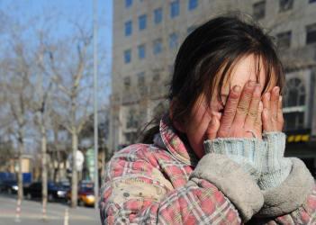 中国では格差により貧困者数が5億人に達している(Getty Images)