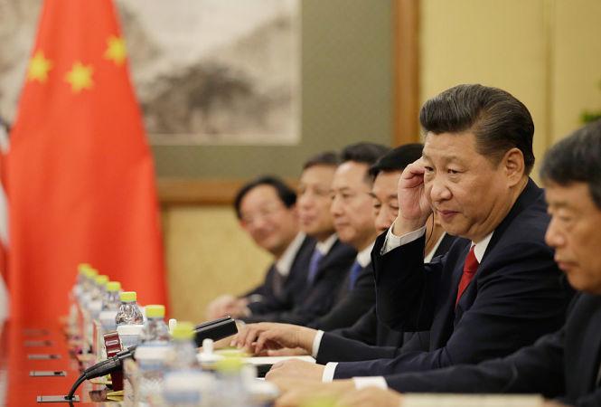 訪米する前後には重大な事案が発生する。習近平中国国家主席のジンクス(Jason Lee - Pool /Getty Images)