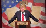 選挙戦を制したドナルド・トランプ次期米大統領(Scott Olson/Getty Images)
