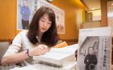 6月、台湾立法院超党派国際人権促進会に参加した、高智晟弁護士の娘、耿格さん(大紀元)