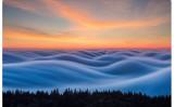 サンフランシスコのプロカメラマン、ニック・ステンバーグ氏が撮影した雲海(スクリーンショット)