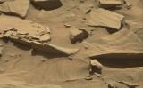 スプーンに似た形のものが、中央下方に映っている(NASA)