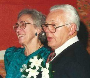 とても仲の良かったバウワー夫妻。二人は同じ日に亡くなった(credit:Marie Bauer)