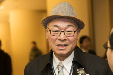 建築設計事務所所長・坂本茂樹さん(野上浩史/大紀元)