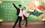 バレリーナの磯村凜さんと野黒美茉夢さんは神韻公演を鑑賞し、演出を高く評価した(野上浩史/大紀元)