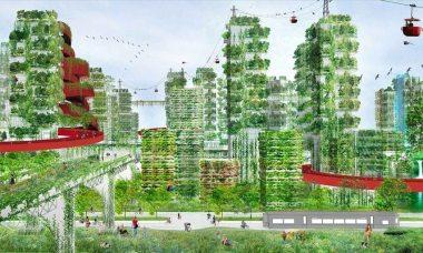 イタリアの建築家ステファノ・ボエリ氏は2月、広西チワン自治区柳州市で、自身の作品「垂直の森」が100~200棟建つ都市建設計画を公表した(Stefano Boeri Achitetti)