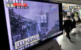 中国国防科学工業局の高官が国営中央テレビ(CCTV)の番組で、9年前に発生した四川大地震の直後に同地区では、「3.11」東日本大震災時の福島第一原子力発電所事故と同じような危機状況があったと発言した(JUNG YEON-JE/AFP/Getty Images)