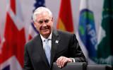 ティラーソン米国務長官は21日、中国の外交政策を統括する楊潔篪・国務委員と電話会談し、北朝鮮問題や米中両国の関係について意見交換を行った( Vogel/Pool/Getty Images)