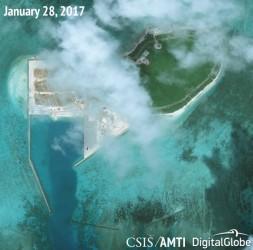 中国共産党の海上進出は周辺地域に緊張感をもたらす。(CSISより)
