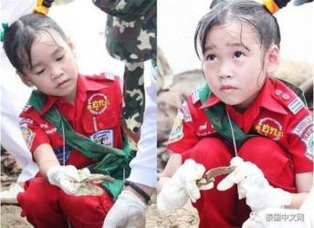 医療活動に取り組む6歳のタイの女の子katoon(Top-news)