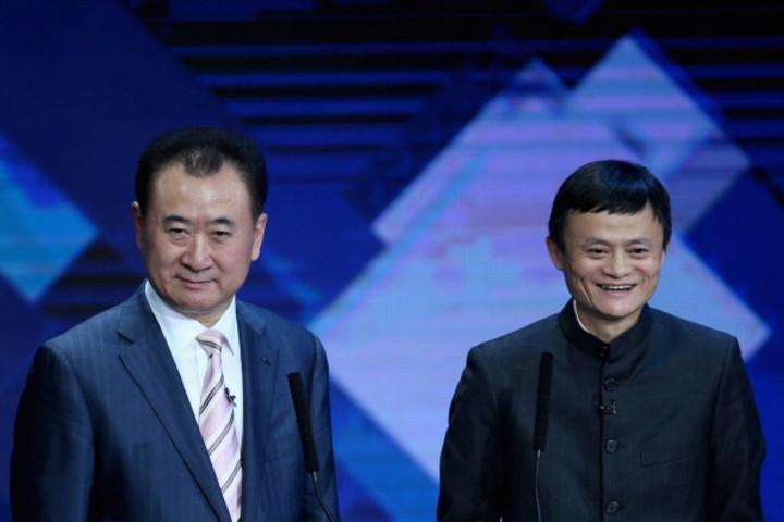 中国一の富豪、大連万達集団(ワンダ・グループ)会長の王健林氏と、2番目の富豪でアリババ会長、馬雲(ジャック・マー)氏は「両会」に不参加の姿勢を表明し続けている(Photo by VCG/VCG via Getty Images)