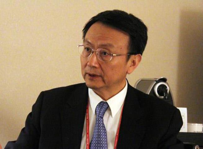 北京大学国際関係学院院長の賈慶國氏(北京大学)