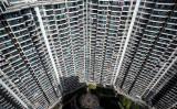 上海の高層ビル群。2016年10月撮影(JOHANNES EISELE/AFP/Getty Images)
