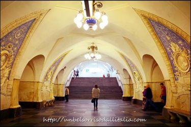 ヨーロッパで最も芸術的なモスクワの地下鉄(Scarlett Toブログ)