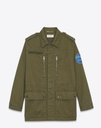 MILITARY PARKA W PATCH TOKYO