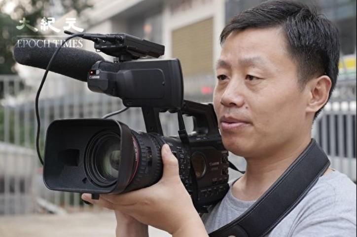 中国の暗部にカメラを向け続けている杜斌氏、氏はこうした暗部こそが中国の真の姿であり、多くの中国人が知らない、または気づいていない一面だと語る(大紀元)