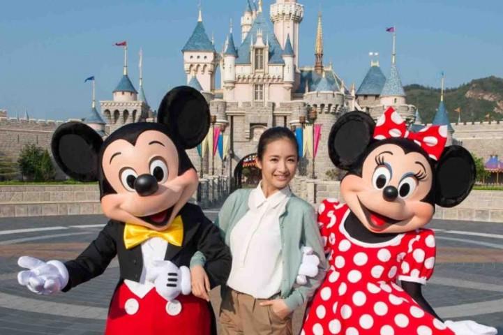 (Courtesy of Hong Kong Disneyland)