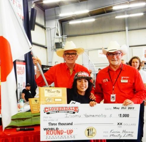 14歳のプロスケータ山本勇選手、カナダの世界大会で優勝 日本人で初の快挙(NVRMND株式会社)