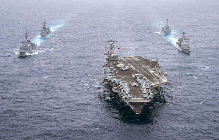 中国海軍VS米国海軍 簡単には埋まらない実力差
