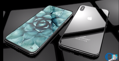 iPhone8とみられるスマートフォンの特徴を示したとされる動画のスクリーンショット(Concept Creator)