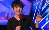 米国の生放送タレント発掘番組「America's Got Talent」に出演した台湾のマジシャン・蔡威澤(Will Tsai)さん(スクリーンショット)